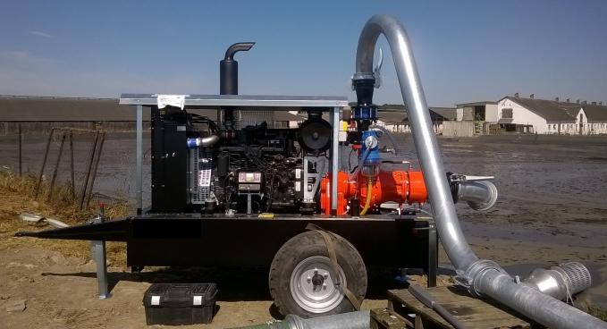 AGROÁZIS dízelmotoros hígtrágyaszivattyúk