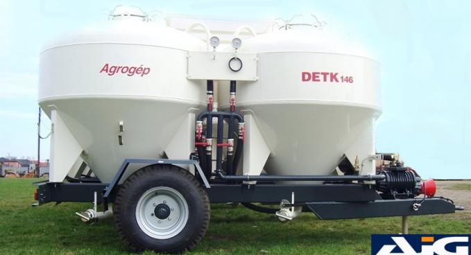 DETK 146 takarmányszállító tartálykocsik