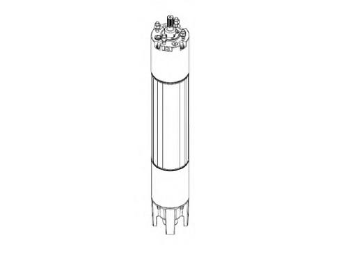 PM 6 WM tekercselhető, vízhűtéses merülő motorok, szivattyúk