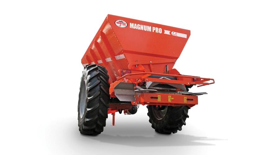 Agrex MAXI és MAGNUM vontatott műtrágyaszórók