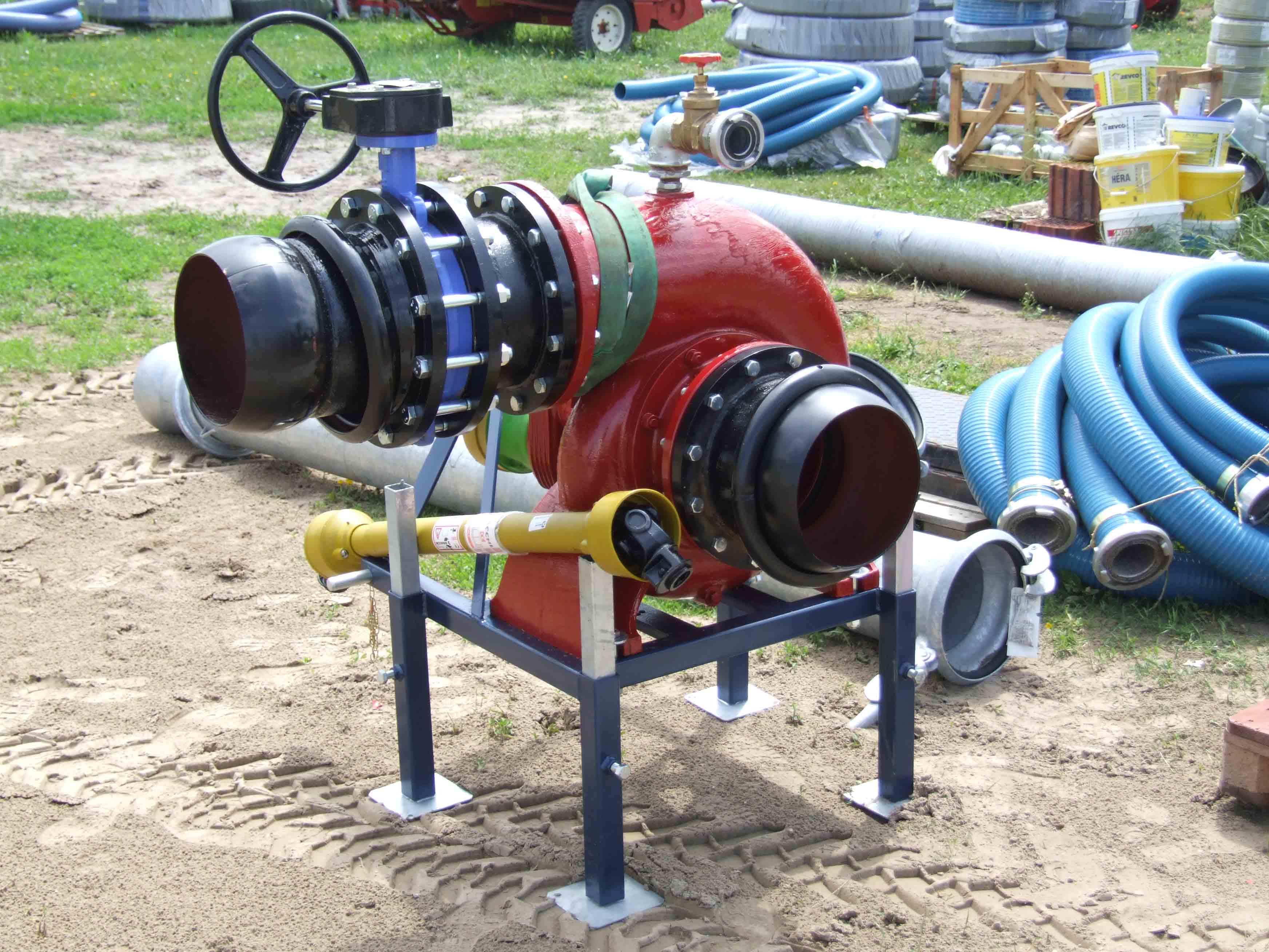 CADOPPI traktorhajtású átemelő szivattyúk