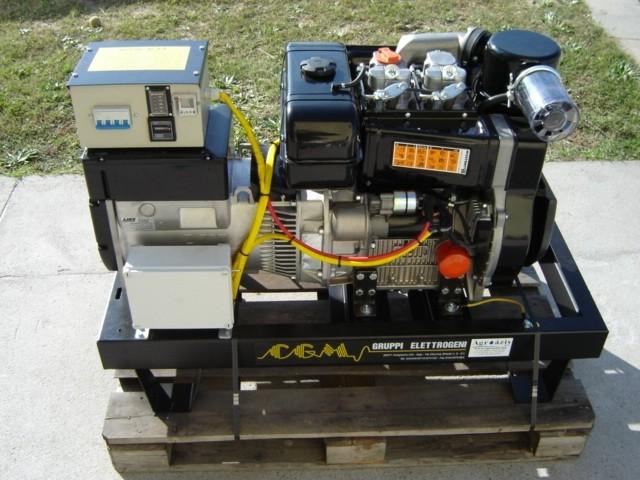 Dízelmotoros áramfejlesztők 3000 f/perc