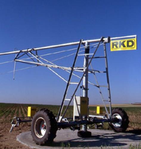 RKD Multicenter pivot töbállásos körforgó öntözőberendezés